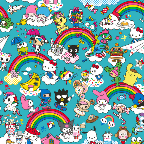 Ju-Ju-Be x tokidoki x Hello Sanrio - Rainbow Dreams
