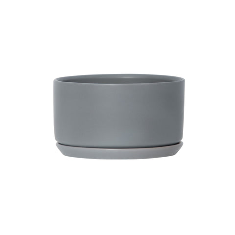 Wide&Low Oslo Planter Grey Fog