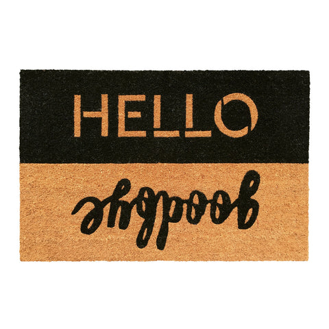 Doormat Hello Goodbye