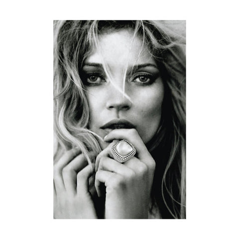 Kate Moss Ring Print