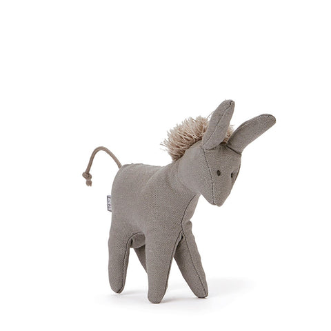 Mini Donkey Baby Rattle