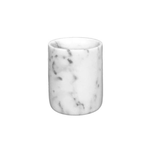 Mini Carrara White Marble Vessel