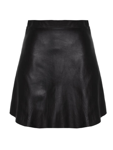 Charlotte Leather Skirt