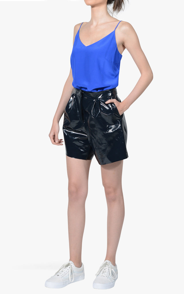 Morgan 100% Patent Leather Short