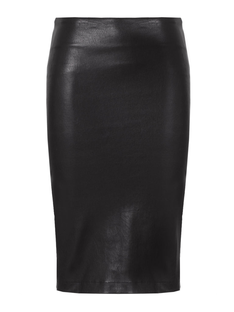 Charlie Leather Pencil Skirt