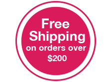 Free shipping on orders over $200