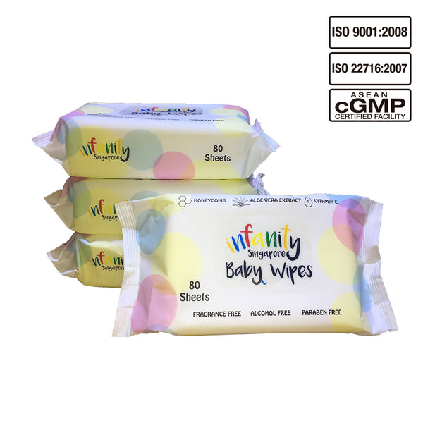 Infanity Baby Wipes - 20 Packs of 80 Sheets