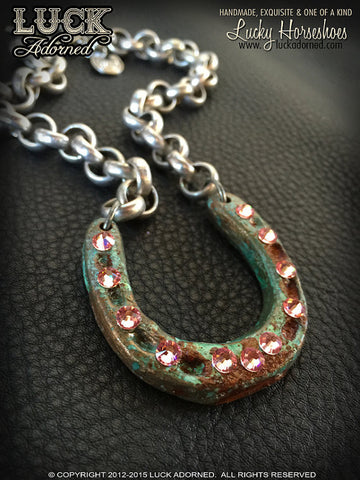 Luck Adorned Lucky Horseshoe Necklace