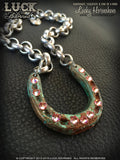 LUCK ADORNED - Lucky Horseshoe Necklace 1006