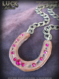 LUCK ADORNED - Lucky Horseshoe Necklace 1009
