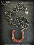 LUCK ADORNED - Lucky Horseshoe Necklace 1015