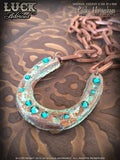 LUCK ADORNED - Lucky Horseshoe Necklace 1017