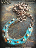 LUCK ADORNED - Lucky Horseshoe Necklace 1021