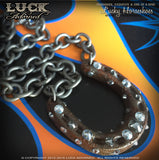 LUCK ADORNED - Lucky Horseshoe Necklace 1022