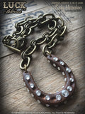 LUCK ADORNED - Lucky Horseshoe Necklace 1027