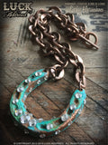 LUCK ADORNED - Lucky Horseshoe Necklace 1028