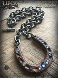 LUCK ADORNED - Lucky Horseshoe Necklace 1030