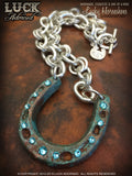 LUCK ADORNED - Lucky Horseshoe Necklace 1031
