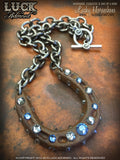 LUCK ADORNED - Lucky Horseshoe Necklace 1033