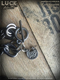 Lucky Horseshoe necklace, horseshoe necklace, good luck, jewelry, lucky jewelry, necklace, big, chunky, bold & badass, jewelry