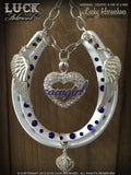COWGIRL Luck Adorned Lucky Horseshoe