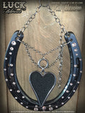 LOVE WARPED Luck Adorned Lucky Horseshoe