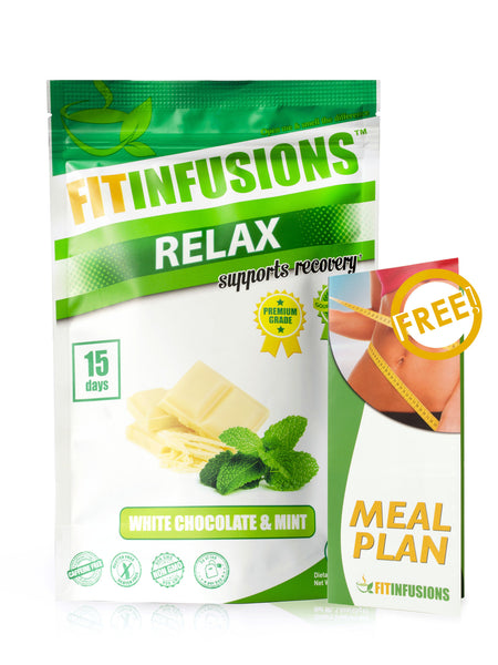Fitinfusions™ Relax White Chocolate & Mint - 15 servings + FREE Meal Plan