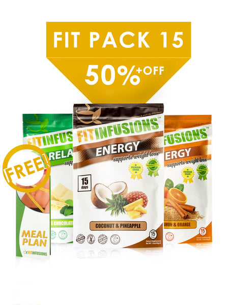 Fitinfusions™ FIT-PACK 15 (Weight Loss Bundle)