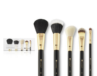 BHCosmetics Face Essential - 5 Piece Brush Set