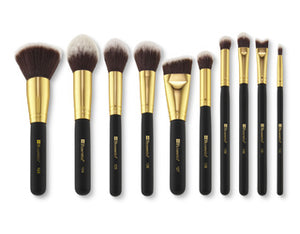 Bh Cosmetics 10pc Sculpt and Blend Brush Set 2