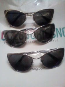 Marcy Metallic Sunglasses
