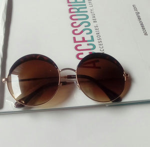 Half Lid sunglasses  Brown