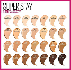 Maybelline Super Stay Full Coverage Liquid Foundation