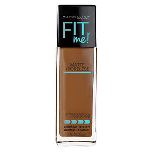Maybelline Fit Me Matte Foundation Cappuccino