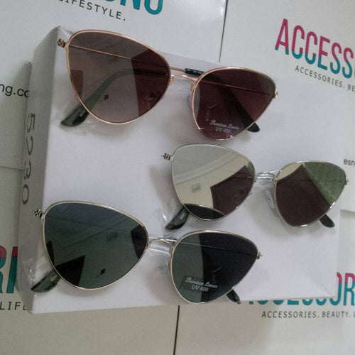 Aviator Colored Lens Sunglasses