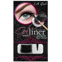 LA Girl Gel Liner Kit Black