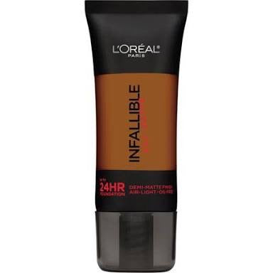 L'oreal Infallible Pro Matte 24HR Foundation.  112 Cocoa