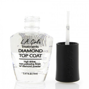 La Girl Diamond topcoat paint