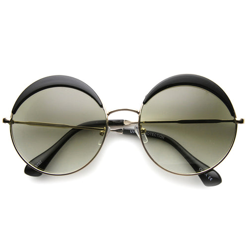 Half Lid Sunglasses - Black