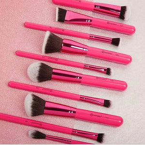 10pcs Sculpt & Blend Fan Faves Brush Set
