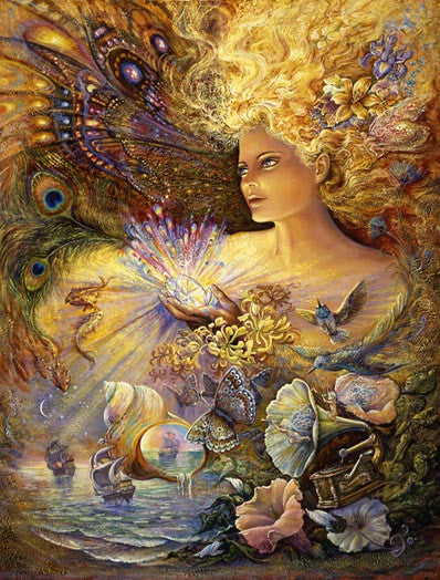 Josephine Wall Cards are Beautiful