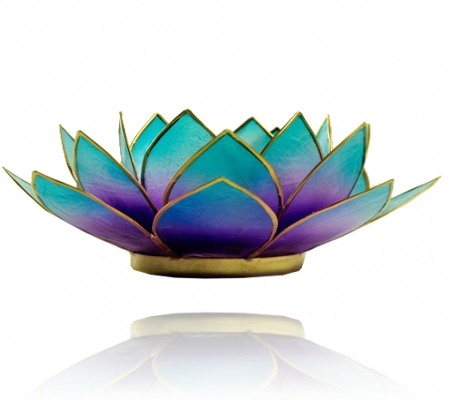 Lotus Blossom Tea Light Holders