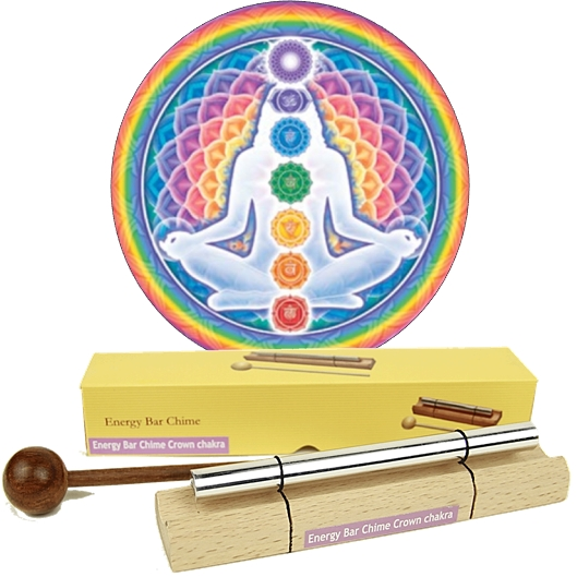 Chakra Chime Bars - Aura Clearing Sound Healing