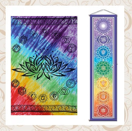 Chakra Wall Banners and Throws