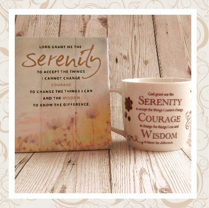 Serenity Prayer Verse Gifts