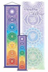 Chakra Wall Hanging Scroll Banner