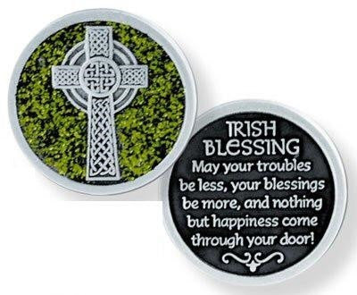 Glitter Pocket Token - Irish Blessing-Pocket Token-Serenity Gifts