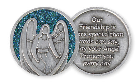 Glitter Pocket Token - Friendship-Pocket Token-Serenity Gifts
