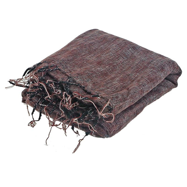 Meditation Blanket Yoga Wrap XL - Dark Burgundy-Meditation-Serenity Gifts