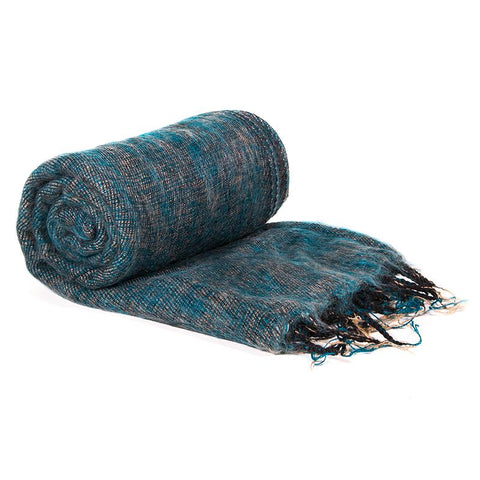 Meditation Shawl Yoga Wrap - Teal Green-Meditation-Serenity Gifts